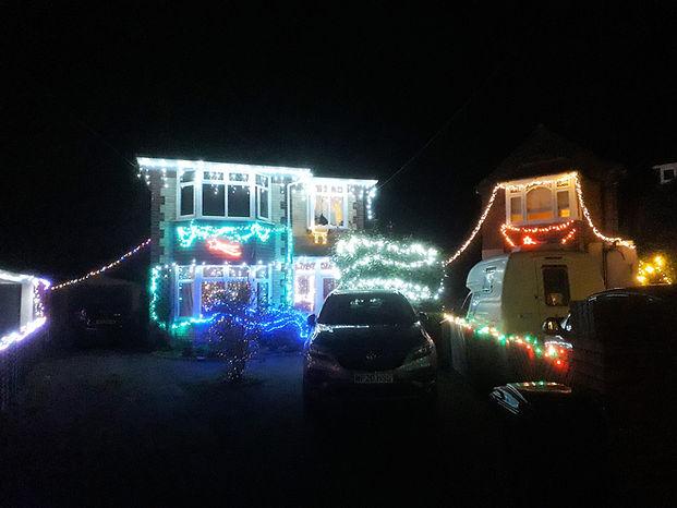 Fearnville Christmas Lights, December, 2