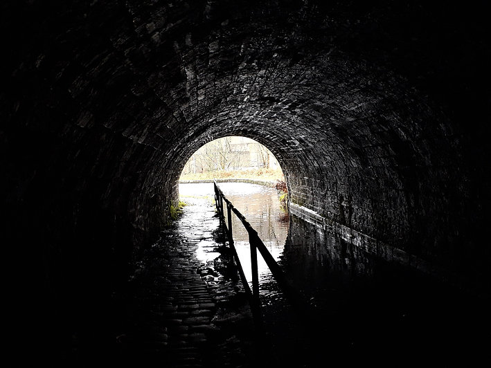 Scout Tunnel on the Huddersfield Narrow
