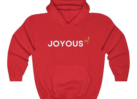 JOYOUS (af)  Unisex Hooded Sweatshirt