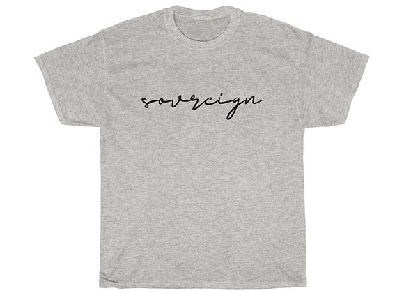 SOVREIGN Unisex Heavy Cotton Tee