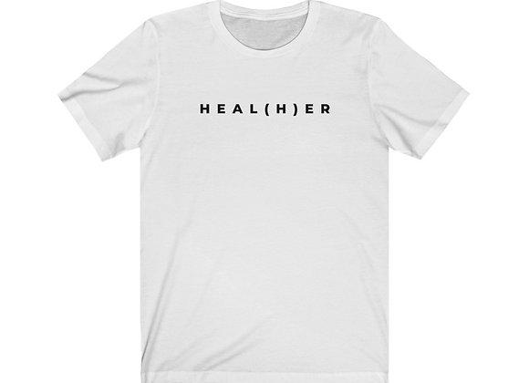 HEAL(H)ER Unisex Jersey Short Sleeve Tee