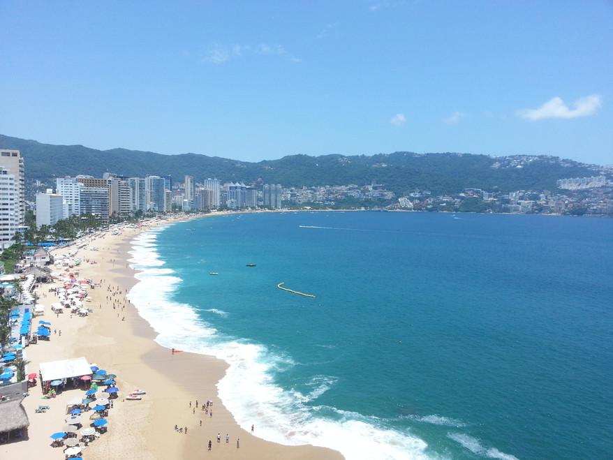 Pandemia = a 93% ocupación hotelera en Acapulco