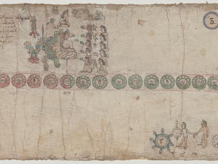 Reflexiones sobre los personajes que presentan pintura corporal negra en la Tira de Tepechpan