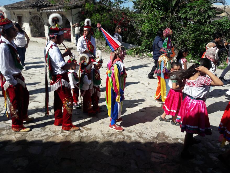 Un vistazo a la mayordomía en San Miguel Tzinacapan