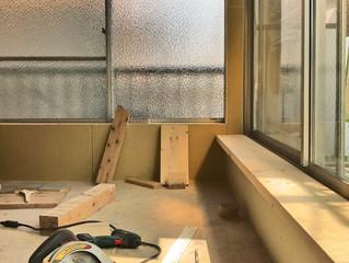 2Fベランダの窓台