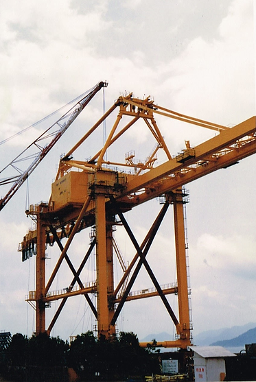 Container Crane Erection