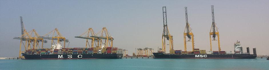 New Container Cranes PBAI Inspected in Saudi Arabia