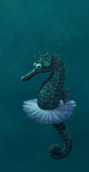 Betty the Seahorse