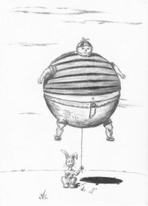 Bunny's Big Boy Balloon