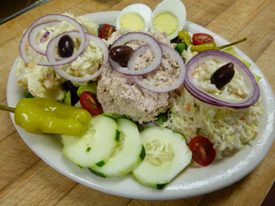 Chicken Salad Cold Platter