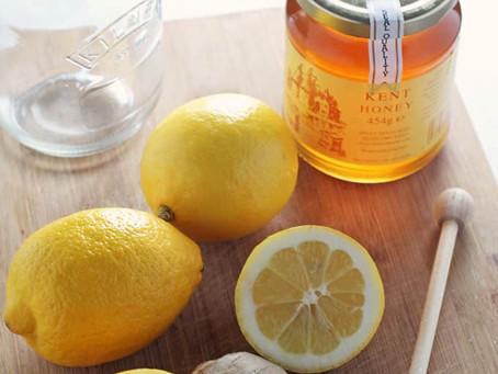Honey Lemon Ginger jar – natural cold & flu remedy
