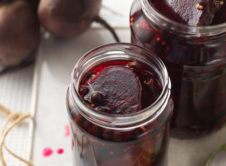 Pickles (cucumber, beetroots and onions)