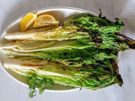 Char-Grilled Cabbage