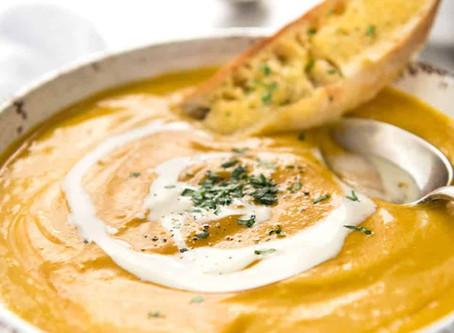 Creamy Roast Pumpkin Soup