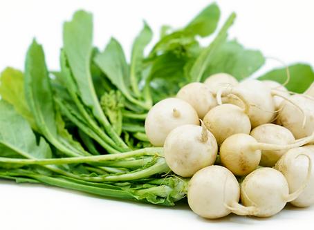 Turnips a few ways