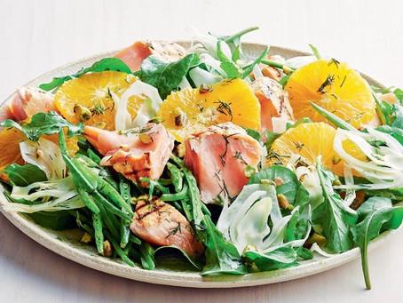 Salmon, Citrus and Fennel Salad
