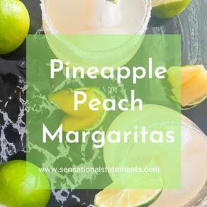 Pineapple Peach Margaritas