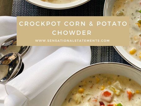 Crockpot Corn & Potato Chowder
