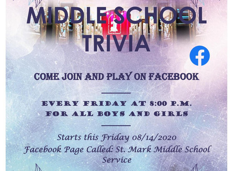 Middle School Trivia