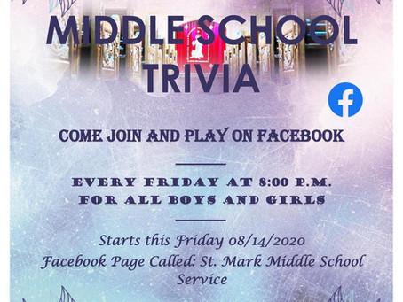 Middle School Trivia