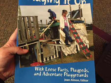 Playing It Up—With Loose Parts, Playpods and Adventure Playgrounds