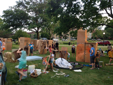 Adventure Play Pop Up at Washington Park