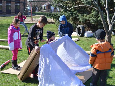 Adventure Playground Camp at Uni Primary