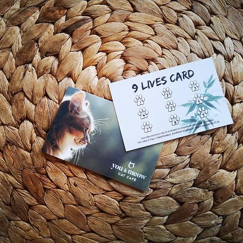 9 Lives Card