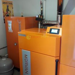 Chaudière à granulés MORVAN , série ; GM EASY 24-004 BM :