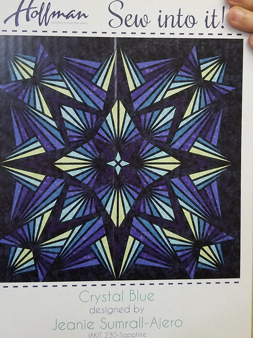 "Crystal Blue quilt kit - 90"" x 90"""