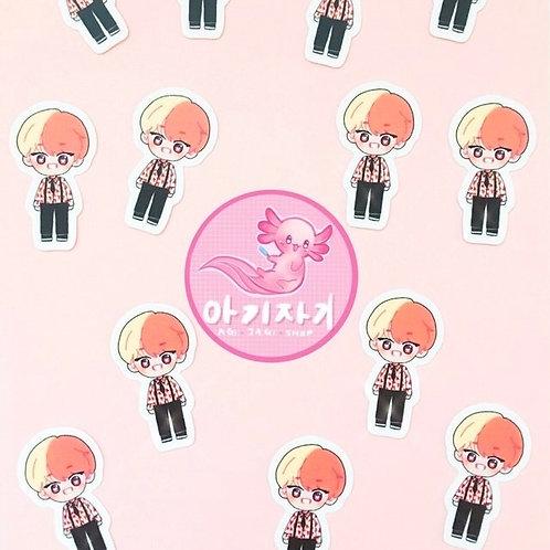 Cotton Candy TaeTae Sticker