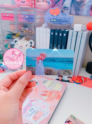 JK by the sea Photo Card