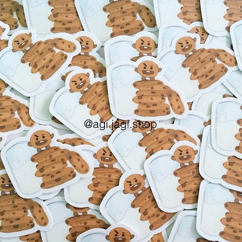 Shooky and Milk Sticker