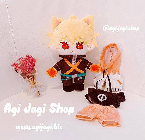 Caramel Corn Katsuki Plush Doll (Plush + One Outfit)