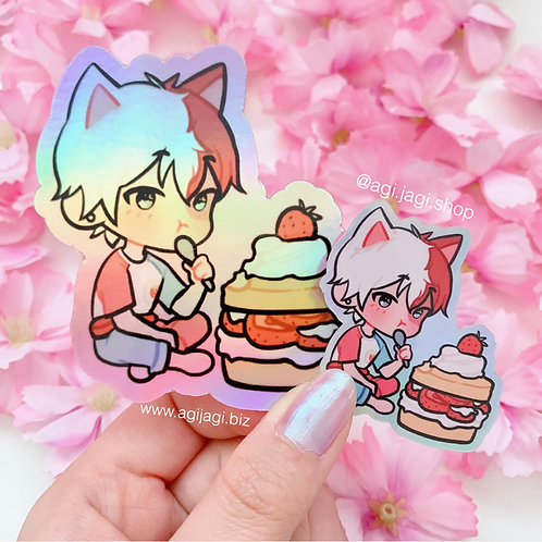 Strawberry Shortcake Shoto stickers