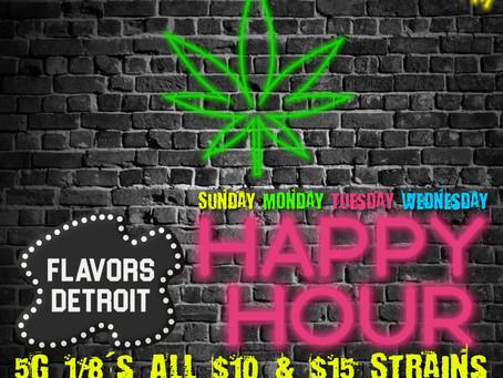 Happy Hour at Flavors Detroit