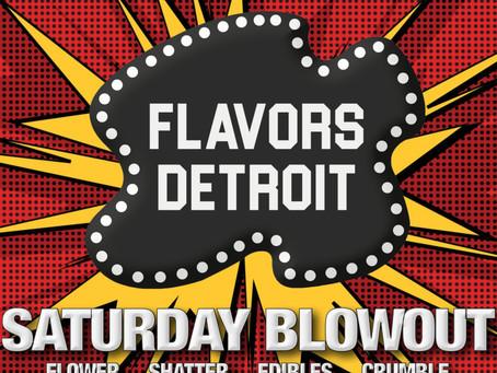 Saturday Blowout!