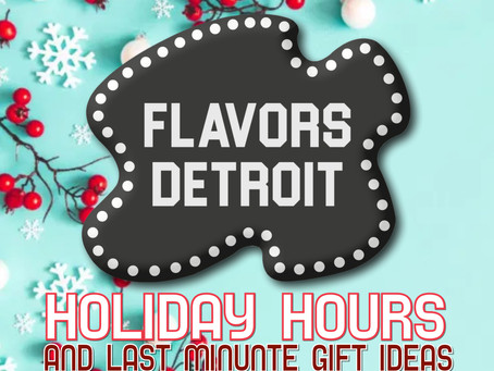 Holiday Hours and Last Minute Gift Ideas