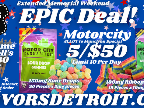Extended Weekend EPIC DEAL !
