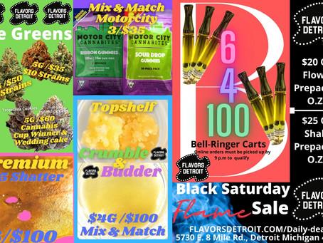 Black Saturday Flame Sale @ FLAVORS DETROIT
