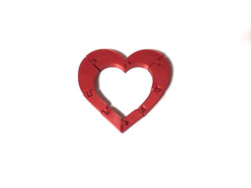 Skládací Srdce