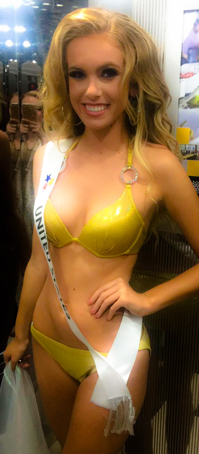 Swimwear Teen Miss Earth USA Cropped