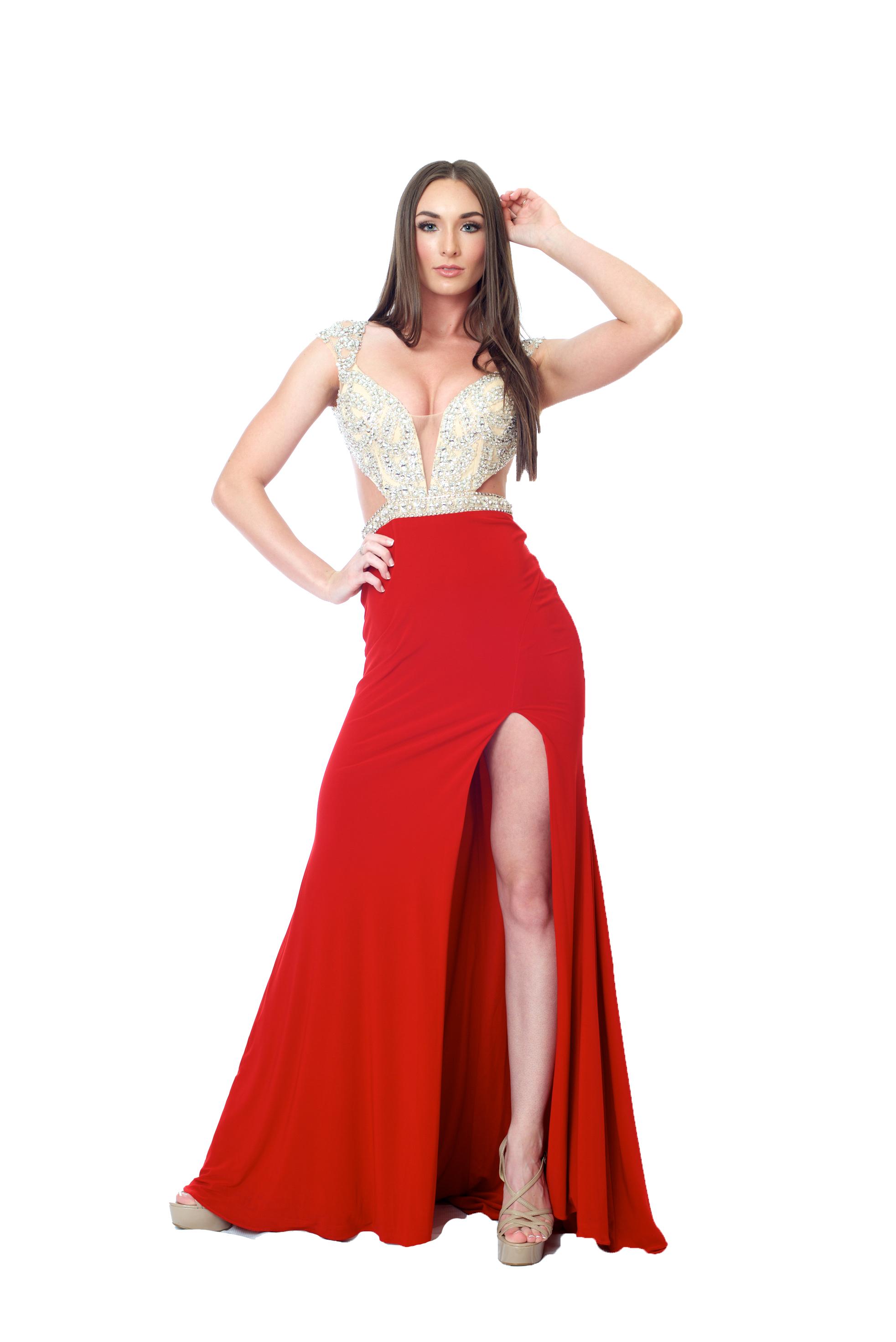 Corrin Mac Duggal Gown