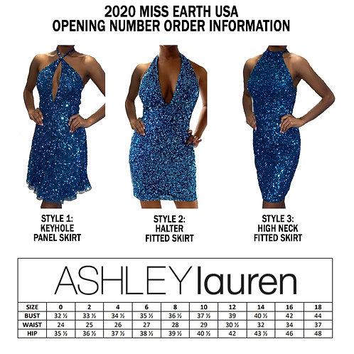 ASHLEYlauren Opening Number Dress