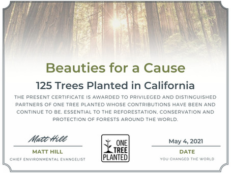 125 Trees to be Planted in California
