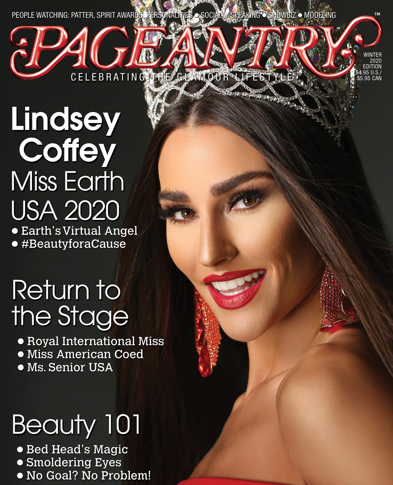 Pageantry Magazine 2020 Cover