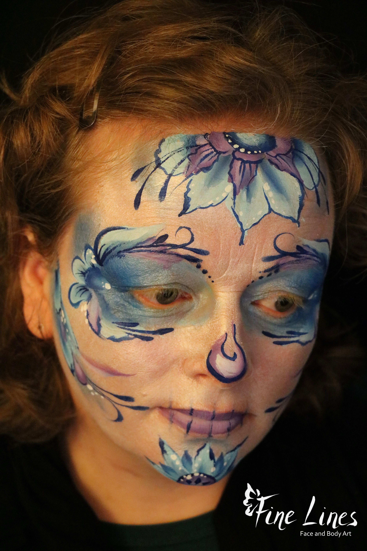 Sugar Skull Gesichtsmalerei