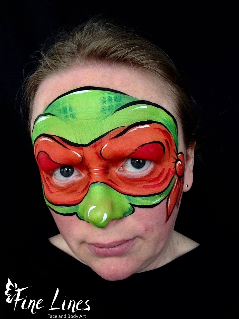 Ninja Turtle Kinderschminken