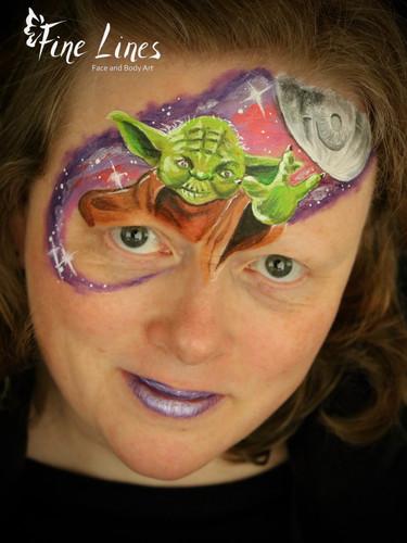 Joda Face painting