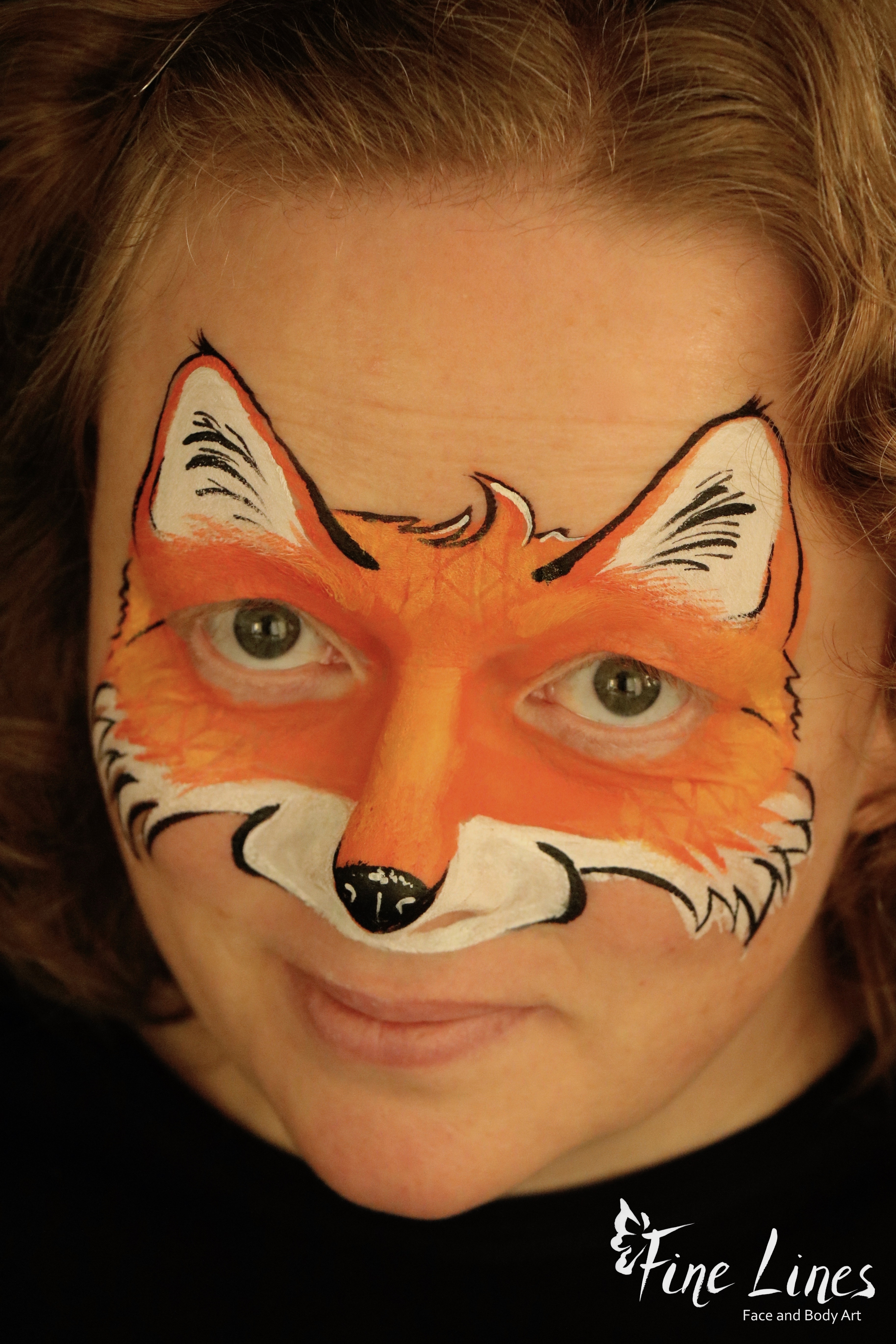 Fuchs Kinderschminken